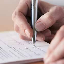 Расписка о получении алиментов (образец): как написать и требования к ней