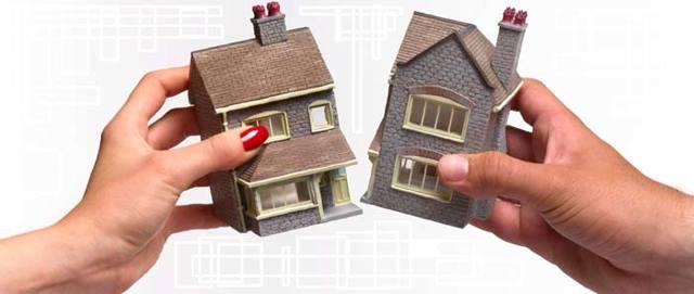 Как делится квартира (доля) при разводе, если есть дети?